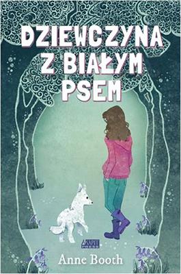 dziewczyna z bialym psem
