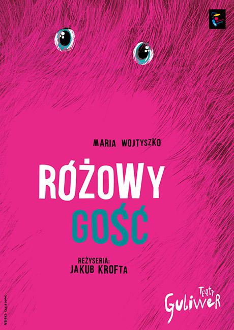plakat Różowy Gość