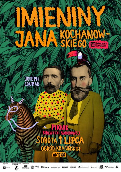 ImieninyJanaKochanowskiego_plakat