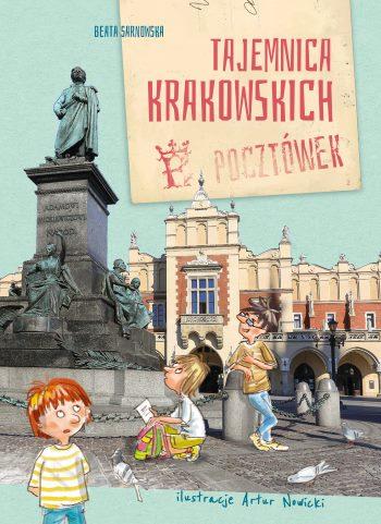 Tajemnica krakowskich pocztowek_okladka (002)