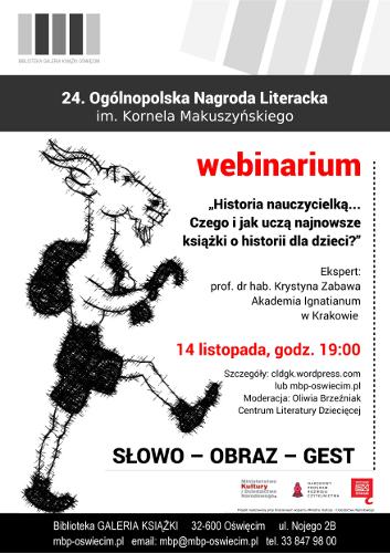 Webinarium 14 listopada 2017