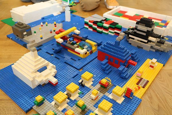 Stolice Europy z Lego, 15-19.01.18