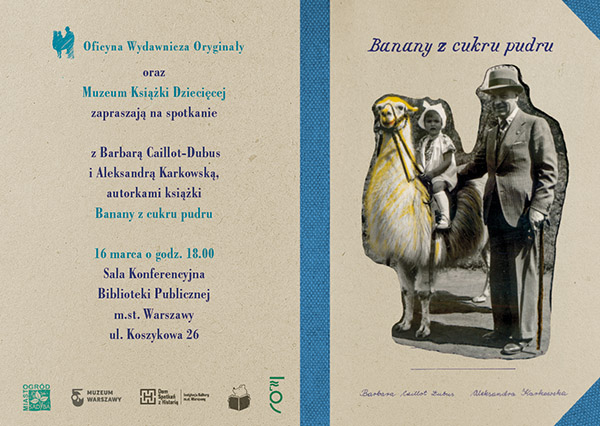 BANANy zaproszenie wystawa PRINT