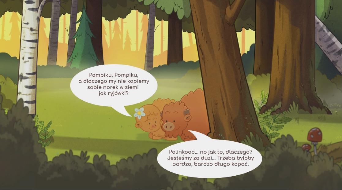 Poznawaj las z Żubrem Pompikiem_prezentacja