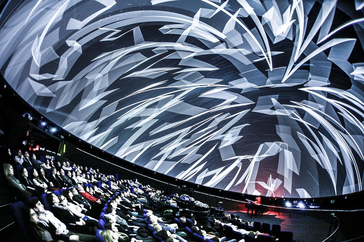 16.03.2013 Warszawa , Centrum Nauki Kopernik , Planetarium, Muzyka pod gwiazdami. Fot. Wojciech Surdziel / wosu.pl