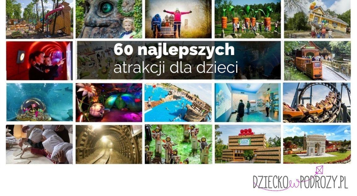 Ranking najlepszych atrakcji dla dzieci w Polsce 2019 FB