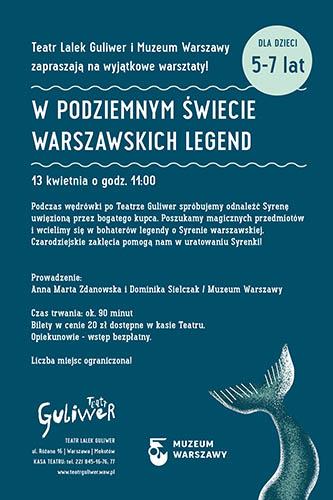 GULIWER Warsztaty Syrenka piatek
