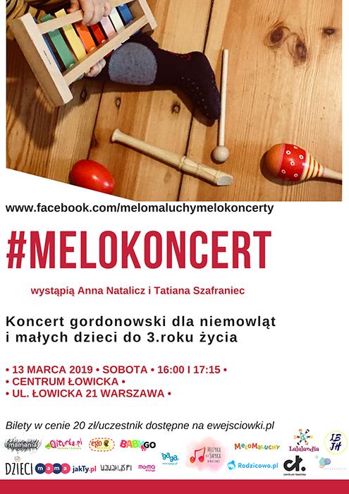 melokoncert plakat kwiecień 2019