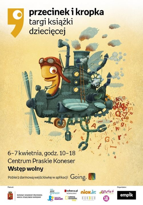 plakat_Targi_książki_dziecięcej_Przecinek_i_Kropka (002)