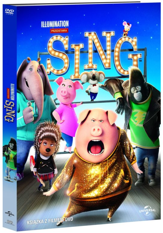 SING DVD book pack