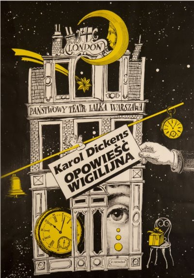 Opowieść wigilijna Teatr Lalka