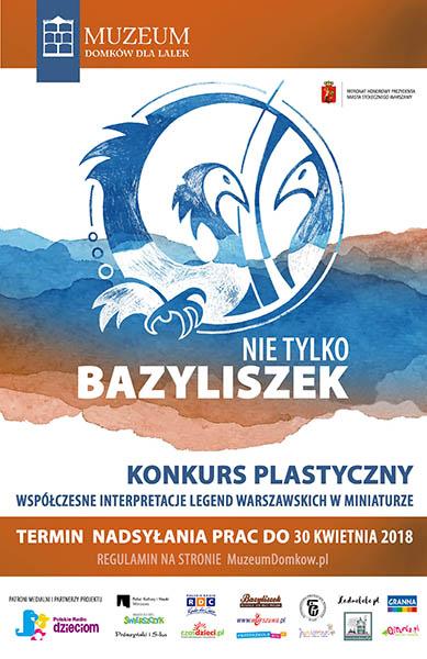 plakat konkurs NIE TYLKO BAZYLISZEK A4