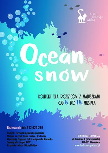 OCEAN SNÓW_plakat