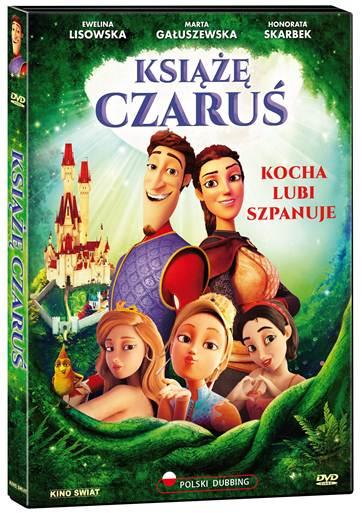KSIĄŻĘ CZARUŚ od 6 grudnia na DVD!