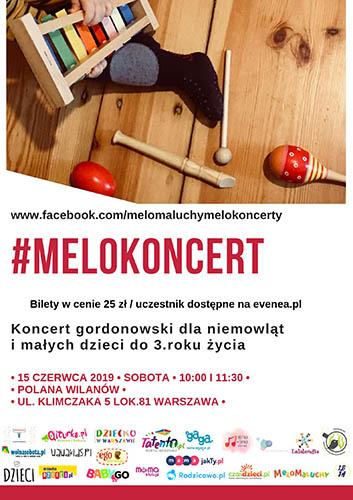 MeloKoncert plakat czerwiec 2019