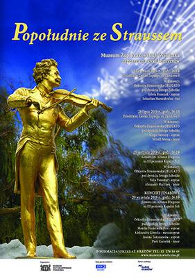 Plakat Popołudnie ze Straussem 2019