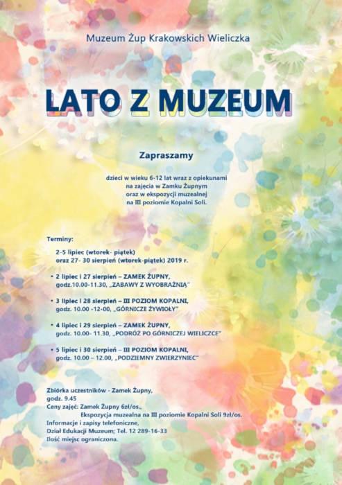 Lato w Muzeum 2019 plakat1