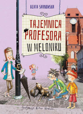 Tajemnica profesora w meloniku_okladka, prev