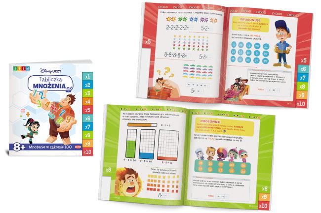 Disney Uczy Tabliczka mnozenia_3