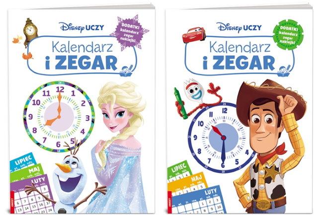 Disney Uczy Kalendarz