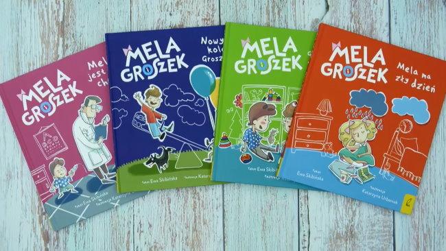 Mela i Groszek - seria książek dla dzieci