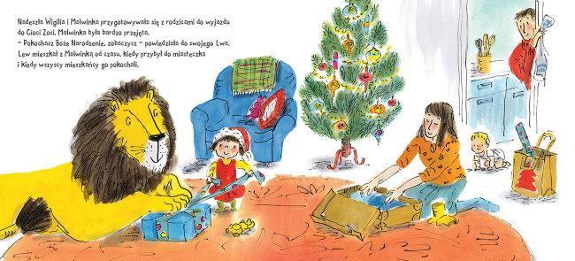 Jak schować Lwa w Święta?