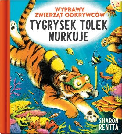 Tygrysek Tolek nurkuje 3d